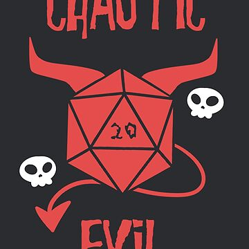 Chaotic Evil by JekyllDraws