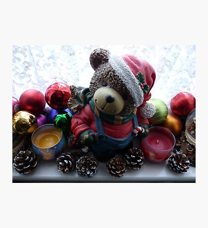 Christmas Decorations Photographic Print