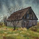 Old Barn in the Netherlands by Maria Meester