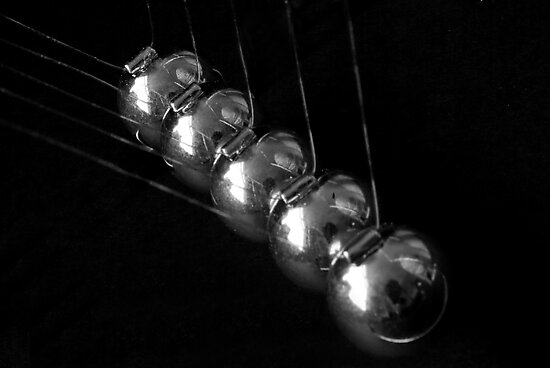 Newton's Cradle by Stephen Knowles