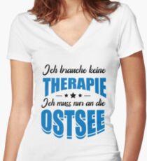 Ostsee Shirt mit V-Ausschnitt