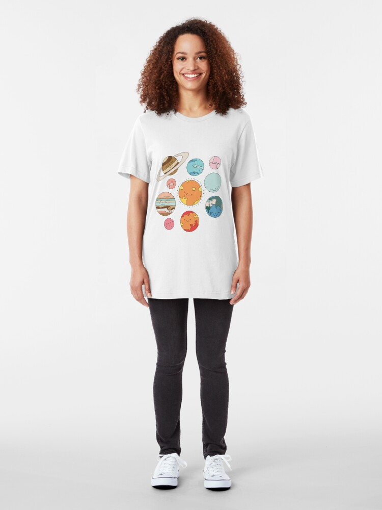 Alternate view of Cosmos by Elebea Slim Fit T-Shirt