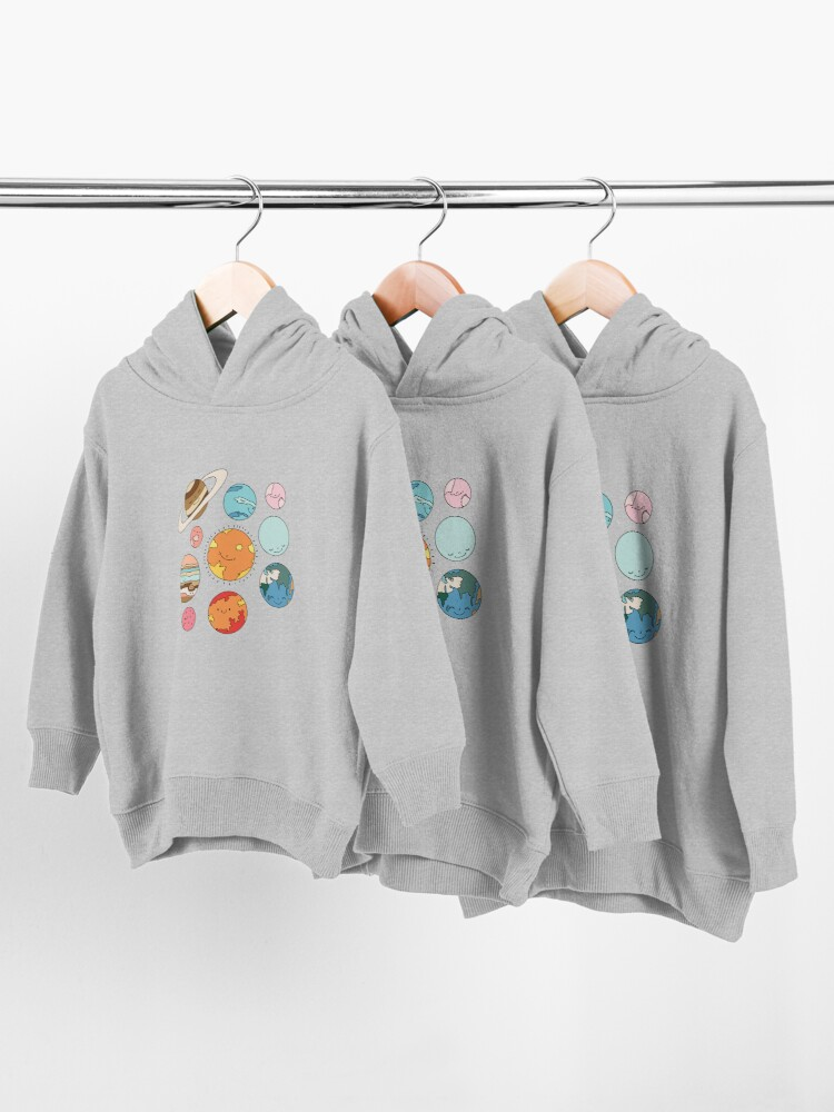Alternate view of Cosmos by Elebea Toddler Pullover Hoodie