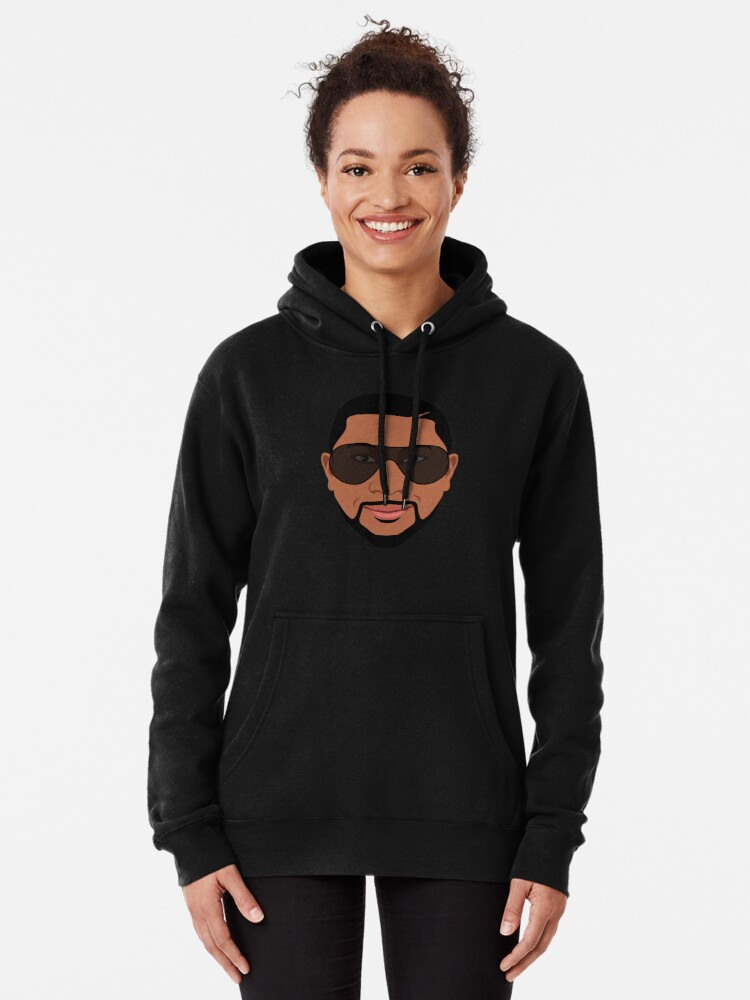 """Alternate view of Jahan Nostra """"Avatar"""" Collection Pullover Hoodie"""
