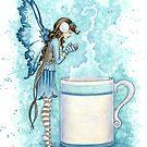 Hot Cocoa by AmyBrownArt