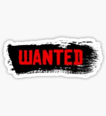 Red Dead Redemption 2 - Wanted Sticker