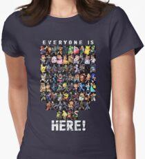 Alle sind hier! - Super Smash Bros Ultimate Tailliertes T-Shirt