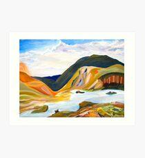Land Full of Colour Art Print