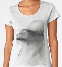 Win Hill Pike - Peak District, Derbyshire Landscape Women's Premium T-Shirt
