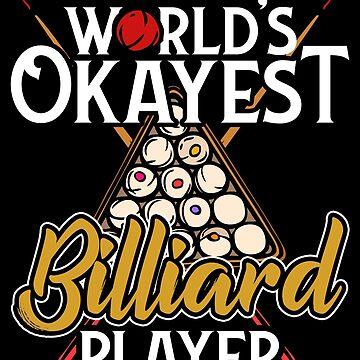 Billiard Billiards by GeschenkIdee