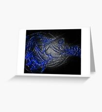 Life series (Blue) Greeting Card