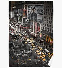Times Square, New York City Poster
