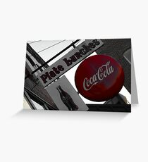 Plate Lunches - Red Apple Grill, 65775 MO Greeting Card