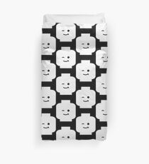 Minifig Winking Head Duvet Cover