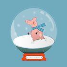 Ice Skating Pig by ShowMeMars