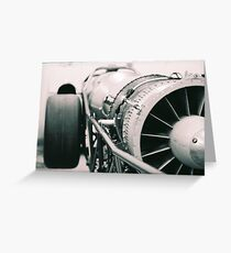 Jet Dragster  Greeting Card