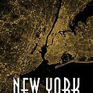 New York City Poster by CarlosV