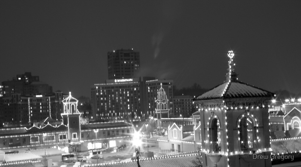 Country Club Plaza at Night by Drew Gregory