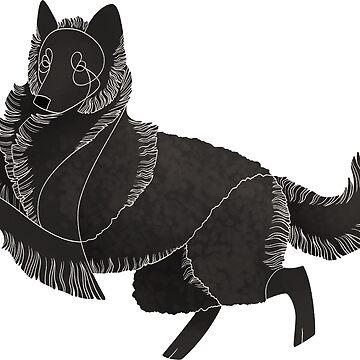 Year of the Dog - Croatian Sheepdog by Kelgrid