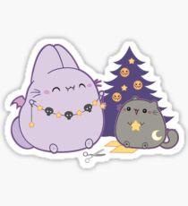 The Bunpire, Vampire Bunny Bat - Holidays Sticker