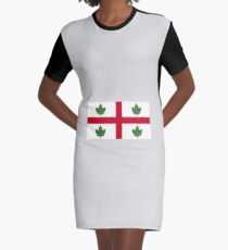 Flag of Anglican Church of Canada  Graphic T-Shirt Dress