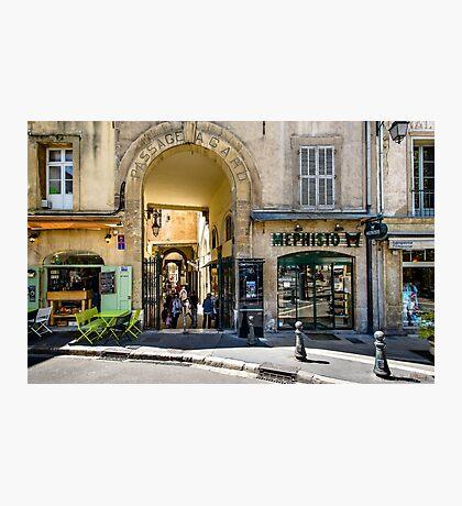 Passage Agard, Aix-en-Provence  Photographic Print