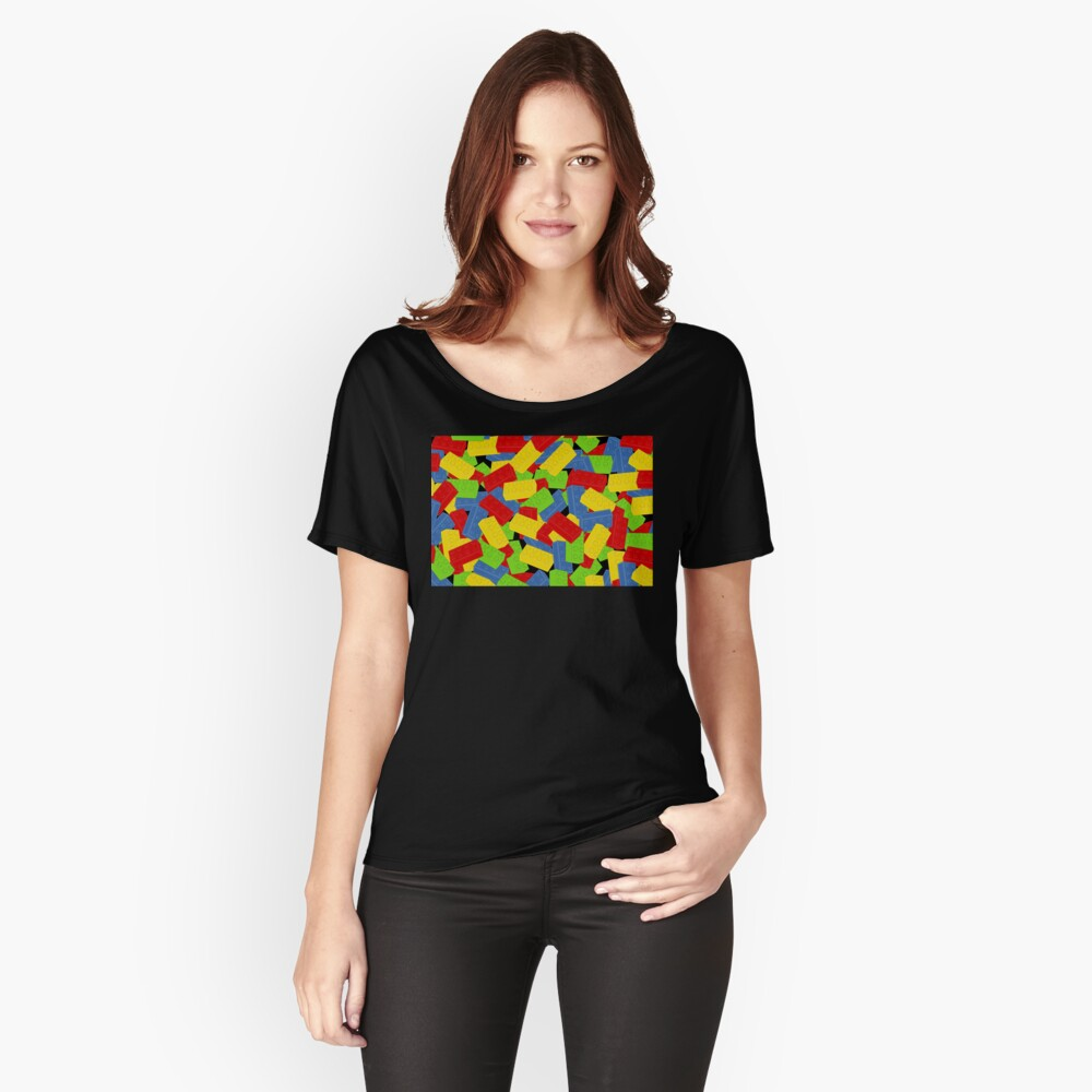 A Pile of Bricks  Women's Relaxed Fit T-Shirt Front