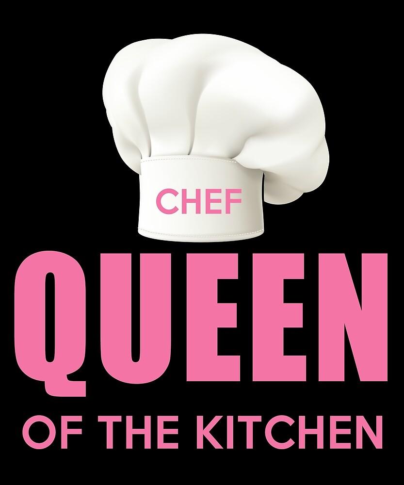 Lustige Königin der Küche Mom Chef, Bäcker, Koch, Backen ...