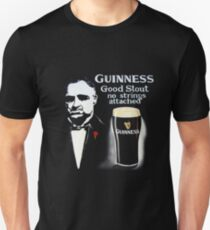 black glass of beer T-Shirt