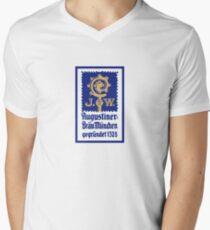 Augustiner-Bräu Logo Men's V-Neck T-Shirt