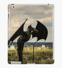 Black Dragon Landscape iPad Case/Skin