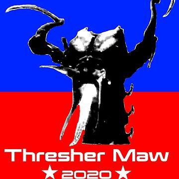 Thresher Maw 2020 Mass Effect by dubukat