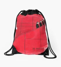 we were the robots (fade-out) Drawstring Bag