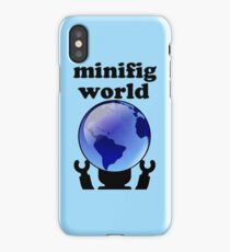 MINIFIG WORLD iPhone Case