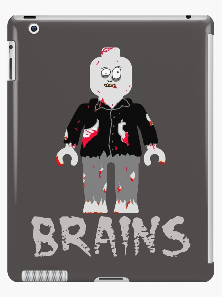 BRAINS ZOMBIE MINIFIG by Customize My Minifig