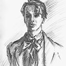 William Butler Yeats by Barnaby Edwards