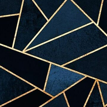 Blue and Gold Graphic by LaPetiteBelette