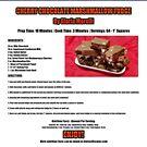 Cherry Chocolate Marshmallow Fudge Recipe by cmmei