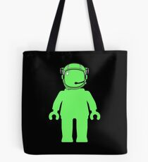 Banksy Style Astronaut Minifigure Tote Bag