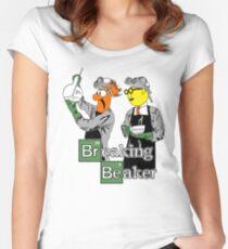 Breaking Beaker Women's Fitted Scoop T-Shirt