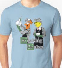 Brechender Becher Unisex T-Shirt