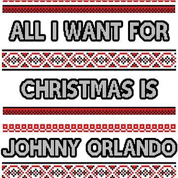 Ugly Christmas Sweater - Johnny Orlando by amandamedeiros