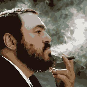 Pavarotti by opngoo