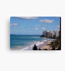 Puerto Rico beach Canvas Print