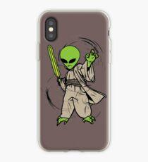 Alien Yoda iPhone Case