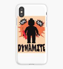 Dynamite Minifigure iPhone Case/Skin