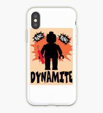 Dynamite Minifigure iPhone Case