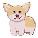 Cute Cartoon Corgi by KoalaBecky