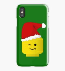 Santa Minifig by Customize My Minifig iPhone Case