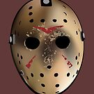 Friday the 13th Inspired Hockey Mask by Andrew Guisgand